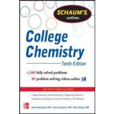 Schaum's Outline of College Chemistry – Jerome Rosenberg idegen nyelvű könyv