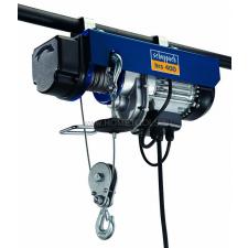 Scheppach / Woodster Scheppach HRS 400 - elektromos drótköteles csörlő-emelő emelőgép