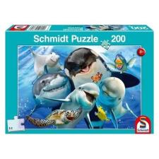 Schmidt : Víz alatti barátok 200 darabos puzzle puzzle, kirakós