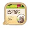 Schmusy Nature Macska Alutálkás Csirke+Lazac 100g