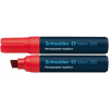 "SCHNEIDER Alkoholos marker, 4-12 mm, vágott, ""Maxx 280"", piros"