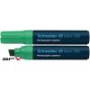 "SCHNEIDER Alkoholos marker, 4-12 mm, vágott, SCHNEIDER ""Maxx 280"", zöld"