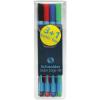 """SCHNEIDER Golyóstoll, 0,7 mm, kupakos, SCHNEIDER """"Slider Edge XB"""", hagyományos színek"""