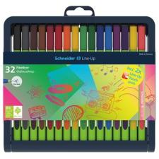 SCHNEIDER Line-Up Tűfilc készlet, 0,4 mm, 30+2 vegyes színek filctoll, marker