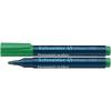 "SCHNEIDER ""Maxx 130"" 1-3 mm kúpos zöld alkoholos marker"