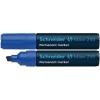 "SCHNEIDER ""Maxx 250"" 2-7 mm vágott kék alkoholos marker"