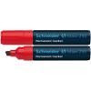 "SCHNEIDER ""Maxx 250"" 2-7 mm vágott piros alkoholos marker"