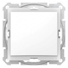 SCHNEIDER SEDNA Váltókapcsoló, rugós bekötés, 10AX, IP44, fehér villanyszerelés