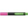 """SCHNEIDER Szövegkiemelő, 1-4 mm,  """"Link-it"""", összeilleszthető, rózsaszín"""