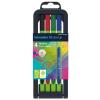 "SCHNEIDER Tűfilc készlet, 0,4 mm, SCHNEIDER ""Line-Up"", 4 különböző szín (TSCLINEV4)"