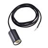 Schrack Technik Schrac Technik LI132650   FITU E27 PENDANT függesztett lámpa, max. 60W, fekete