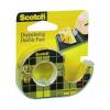 Scotch Ragasztószalag 3M Scotch 136D kétoldalas 12mmx6,3m átlátszó