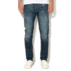 Scotch & Soda , Dean loose fit szűk farmernadrág, Sötétkék, W31-L32 (144873-2182-W31-L32)