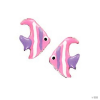 scout Gyerek fülbevaló ékszer Ohrstecher ezüst Fische rózsaszín Mädchen 262115100