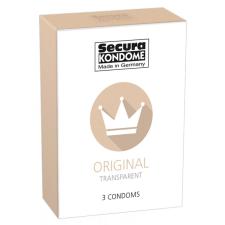 Secura Original - áttetsző óvszerek (3db) óvszer