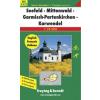 Seefeld-Mittenwald-Garmisch Partenkirchen-Karwendel turistatérkép - f&b WK 5322