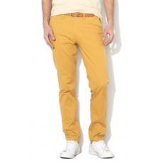 Selected Homme , Yard slim fit chino nadrág, Mustársárga, W29-L32 (16067185-HONEY-MUSTARD-W29-L32)