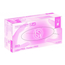 "SEMPERMED Sempercare Soft - Nitrli kesztyű ""M"" (Latex-Free, Powder-Free) 200 db"