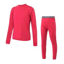 Sensor Merino Air Szett póló+alsó Gyerek 150 / rózsaszín gyerek póló