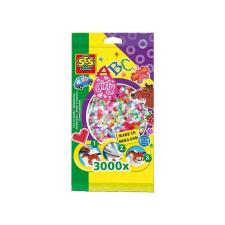 SES lányos színű vasalható gyöngy 3 000 darabos készlet kreatív és készségfejlesztő