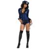 Sexy rendőr lány jelmez - 888106