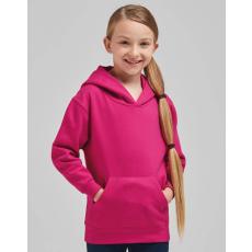 Sg Gyerek kapucnis hosszú ujjú pulóver SG Kids' Hooded Sweatshirt 104 (3-4/S), Burgundi vörös