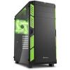 Sharkoon AI7000 Glass - Fekete-zöld
