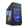 Sharkoon V1000 Micro-ATX ablakos fekete (4044951013968)