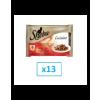 Sheba Cuisine húsos válogatás 4 x 85 g x 13