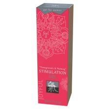 Shiatsu HOT Shiatsu - klitorisz stimuláló krém - gránátalma-szerecsendió (30ml) izgatók, stimulálók