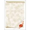 SIGEL Előnyomott papír, A4, 185 g, SIGEL Viaszpecsét (SDP521)