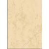 SIGEL Előnyomott papír, kétoldalas, A4, 200 g, SIGEL, bézs, márványos (SDP397)