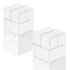 """SIGEL Extra erős kockamágnes, 2 db SIGEL """"SuperDym"""", fehér"""