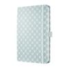 """SIGEL Jegyzetfüzet, exkluzív, 135x203 mm, vonalas, 174 oldal, keményfedeles, SIGEL """"Jolie"""", Pastel Blue (SIJN309)"""