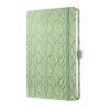 """SIGEL Jegyzetfüzet, exkluzív, 135x203 mm, vonalas, 174 oldal, keményfedeles, SIGEL """"Jolie"""", Spring Garden"""