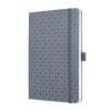 SIGEL Jegyzetfüzet, exkluzív, 135x203 mm, vonalas, 87 lap, keményfedeles, SIGEL