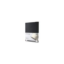 SIGEL Jegyzetfüzet, exkluzív, A4+, kockás, 194 oldal, keményfedeles, SIGEL Conceptum Softwave, fekete füzet