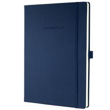 """SIGEL Jegyzetfüzet, exkluzív, A4, vonalas, 194 oldal, keményfedeles, SIGEL """"Conceptum"""", éjkék füzet"""
