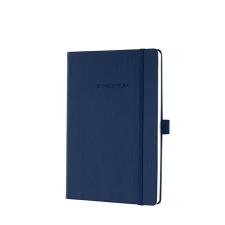 """SIGEL Jegyzetfüzet, exkluzív, A5, kockás, 194 oldal, keményfedeles, SIGEL """"Conceptum"""", éjkék füzet"""