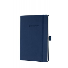 """SIGEL Jegyzetfüzet, exkluzív, A5, vonalas, 194 oldal, keményfedeles, SIGEL """"Conceptum"""", éjkék füzet"""