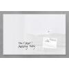 SIGEL Mágneses üveg tábla, 100x65 cm, SIGEL Artverum®  fehér (SDGL141)