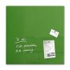 SIGEL Mágneses üvegtábla, 48x48 cm, SIGEL  Artverum®  , zöld