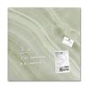 """SIGEL Mágneses üvegtábla, 48x48 cm, SIGEL """"Artverum® """",zöld ásványhatású"""