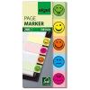 """SIGEL """"Smile"""" 20x50 mm papír vegyes színű jelölőcímke (5x40 lap)"""