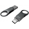 Silicon Power Mobile C80 64GB USB 3.0 + USB 3.0 Type C Szürke