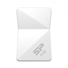 Silicon Power Pendrive 8GB Silicon Power Touch T08 White USB2.0 pendrive