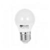 Silver Electronics Gömbölyű LED Izzó Silver Electronics ECO E27 5W Fehér fény