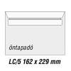 SilverBall Boríték LC5 öntapadó BÉLÉSNYOMATLAN  162x229mm SilverBall <500db/dob>