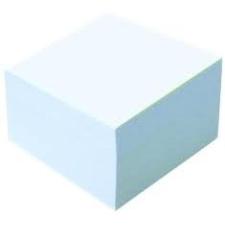SilverBall Kockatömb fehér 85x85x70mm SilverBall jegyzettömb