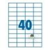 SilverBall SilverBall etikett címke 52,5x29,7 mm 40 címke/lap (100 lap/doboz)